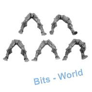 Warhammer 40k Bits: Eldar Dire Avengers - Legs 5x
