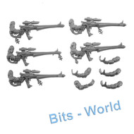 WARHAMMER 40K BITS: ELDAR DIRE AVENGERS - SHURIKEN CATAPULTS and ARMS 5x
