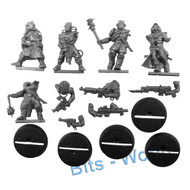 WARHAMMER 40K BITS: CHAOS SM CHAOS CULTISTS (SNAP TOGETHER) - CULTISTS 5x