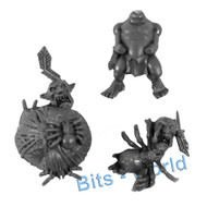 Warhammer Bits: Orcs & Goblins Arachnarok Spider - Goblin With Web Ball
