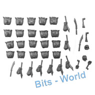 WARHAMMER BITS - VAMPIRE COUNTS GRAVE GUARD - SHOULDER PADS & ACCESSORIES