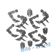 WARHAMMER/40K BITS - CHAOS DAEMON SOUL GRINDER - BLADE LEGS 4x