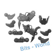 WARHAMMER/40K BITS - CHAOS DAEMON SOUL GRINDER - CLAW ARM