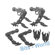 WARHAMMER/40K BITS - CHAOS DAEMON SOUL GRINDER - FRONT LEGS 2x