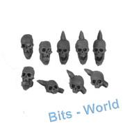 Warhammer/40k Bits: Chaos Daemon Soul Grinder - Skulls