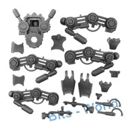 WARHAMMER 40K BITS - GREY KNIGHTS DREADKNIGHT - LEGS