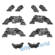 WARHAMMER 40K BITS: GREY KNIGHTS DREADKNIGHT - FEET 2x