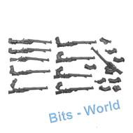 Warhammer 40k Bits: Adeptus Mechanicus Skitarii Rangers/Vanguard - Galvanic Rifles 10x