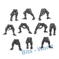 WARHAMMER 40K BITS: ADEPTUS MECHANICUS SKITARII RANGERS/VANGUARD - LEGS 10x