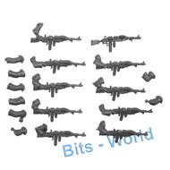 Warhammer 40k Bits: Adeptus Mechanicus Skitarii Rangers/Vanguard - Radium Carbines 10x