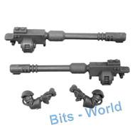 Warhammer 40k Bits: Adeptus Mechanicus Ironstrider Ballistarii Sydonian Dragoon - T-L Cognis Autocannon W/Arms