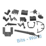 Warhammer 40k Bits: Adeptus Mechanicus Ironstrider Ballistarii Sydonian Dragoon - Arms/Rails/Accessories