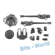 Warhammer 40k Bits: Imperial Knight Warden - Twin Icarus Autocannon