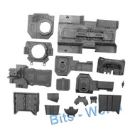 WARHAMMER 40K BITS: ASTRA MILITARUM TEMPESTUS TAUROX PRIME - CHASSIS ASSEMBLY