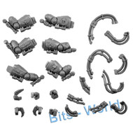 WARHAMMER 40K BITS - SPACE MARINES CENTURION DEV SQUAD - ARMS & POWER CORDS 3x