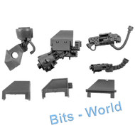 WARHAMMER 40K BITS: SPACE MARINES VENERABLE DREAD - L ARM WITH HVY FLAMER/STM BOLTER