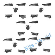 WARHAMMER 40K BITS: NECRON ANNIHILATION/COMMAND BARGE - COMMAND CONSOLE x5