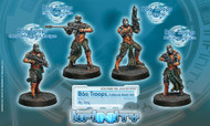 Infinity: Yu Jing - Bao Troops  Judicional Watch Unit