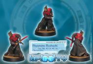 Infinity: Mercenaries - Miyamoto Mushashi - Chain Rifle  AP CCW, EXP CCW