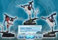 Infinity: Mercenaries - Saito Togan - Combi Rifle  EXP CCW