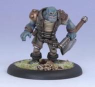 Privateer Press: Iron Kingdoms - Miniature: Grindak Bloodbreath, Trollkin Adventurer