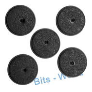 WARHAMMER 40K BITS - SPACE MARINES SCOUT SNIPER SQUAD - BASES 5x