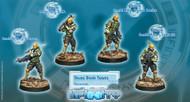 Infinity: Mercenaries - Druze Shock Team