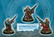 Ariadna: 3rd Highlander Rifles - AP HMG