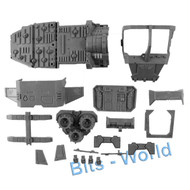 WARHAMMER 40K BITS: SPACE MARINES LAND SPEEDER STORM - CHASSIS ASSEMBLY