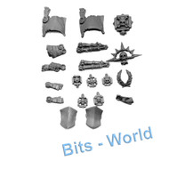 WARHAMMER 40K BITS: SPACE MARINES TERMINATOR SQUAD - PURITY SEALS/ICONS/EXTRAS
