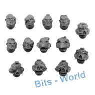 Warhammer 40k Bits: Space Marines Sternguard - Heads 13x