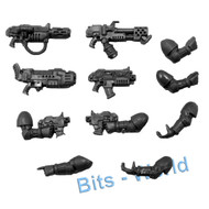 WARHAMMER 40K BITS: SPACE MARINES COMMAND SQUAD - SPECIAL WEAPONS