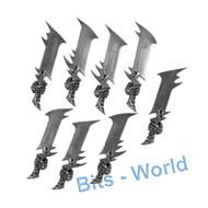 WARHAMMER BITS: UNDEAD LEGIONS MORGHAST ARCHAI/HARBINGERS - SWORDS (4 PAIRS)
