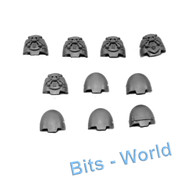 WARHAMMER 40K BITS: SPACE MARINES TERMINATOR SQUAD - SHOULDER PADS 10X