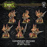 Hordes: Skorne - Cataphract Arcuarii - Unit
