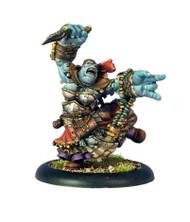 Hordes: Trollbloods - Calandra Truthsayer, Oracle of the Glimmerwood - Trollkin Warlock