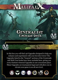 Malifaux: Accessories - Generalist Upgrade Deck