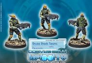 Infinity: Mercenaries - Druze Shock Troops - Spitfire