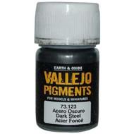Vallejo Paints: Pigments - Dark Steel (30 ml)