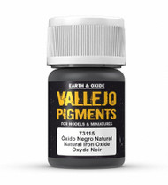 Vallejo Paints: Pigments - Natural Iron Oxide (30ml)