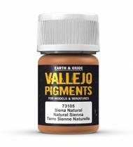 Vallejo Paints: Pigments - Natural Siena (30ml)