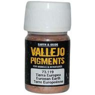 Vallejo Paints: Pigments - European Earth (30 ml)