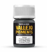 Vallejo Paints: Pigments - Dark Slate Grey (30ml)