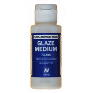 Vallejo Paints: Auxiliaries - Glaze Medium (60ml)