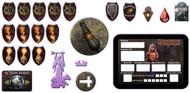 Dungeons & Dragons: 4th Edition Binder Token Set