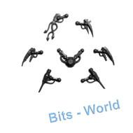 Warhammer 40k Bits: Necron Canoptek Spyder - Fabricator Claws & Gloom Prism