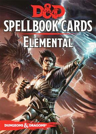 Dungeons & Dragons: 5th Edition Elemental Spell Deck (43 cards)