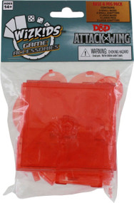 D&D Attack Wing: Base and Peg Pack - Red