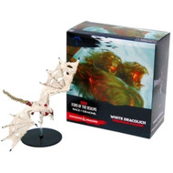 Dungeons & Dragons: Icons of the Realms: White Dracolich Premium Figure