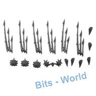 WARHAMMER 40K BITS: TYRANID WARRIORS - BIOMORPHS